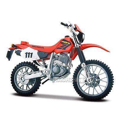 Miniatura Honda XR 400R - Maisto 1:18
