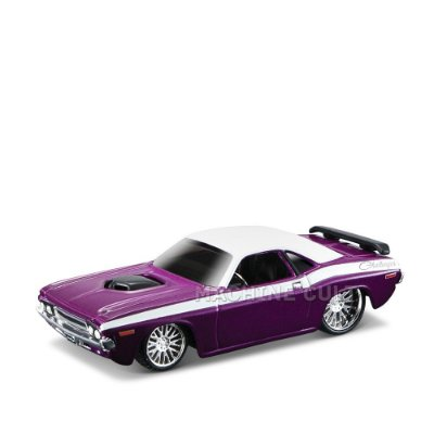 1970 Dodge Challenger RT - All Stars Maisto 1:64