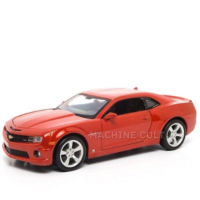 Miniatura 2010 Chevrolet Camaro SS RS Vermelho - Maisto 1:24