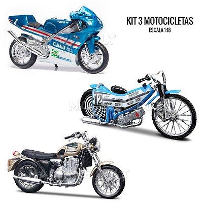 Kit de Miniaturas Motos - Box 4