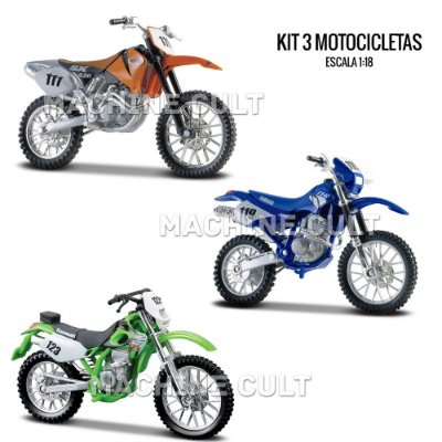 Kit de Miniaturas Motocross - Box 6