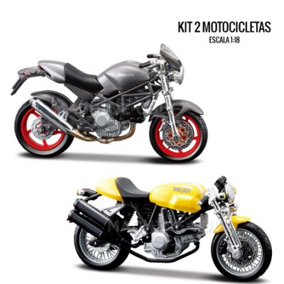 Kit de Miniaturas Ducati - Box 9