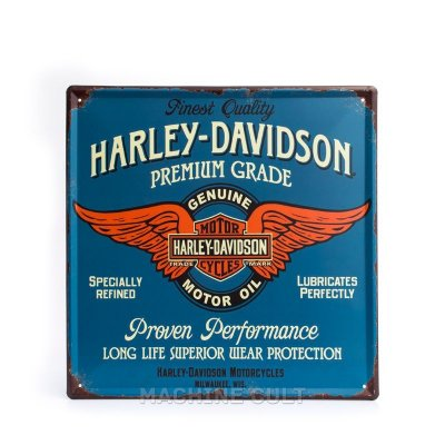 Placa Harley-Davidson - Genuine Services
