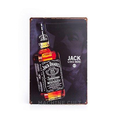 Placa Jack Daniel's