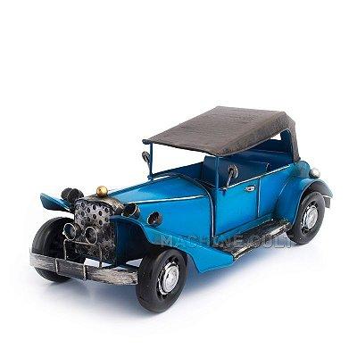 Miniatura Packard Azul com Capota