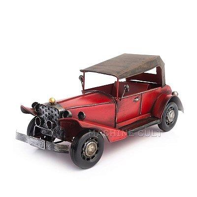 Miniatura Packard Vermelho com Capota