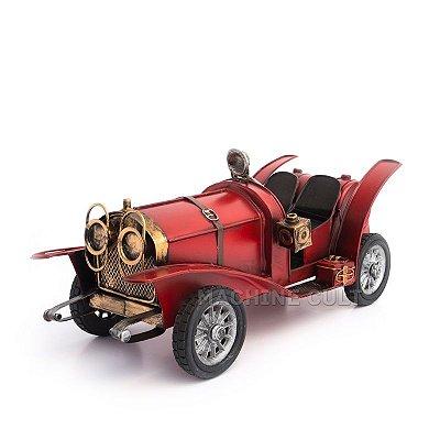 Miniatura Carro Antigo Conversível - Vermelho