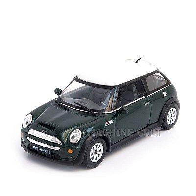 Miniatura Mini Cooper S Verde - 1:28