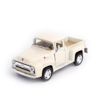 Miniatura Ford Pickup F100 1956 Branca - 1:38
