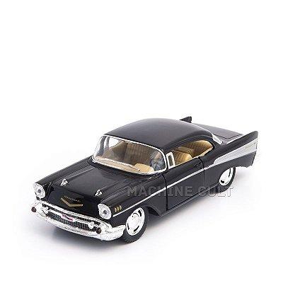 Miniatura Chevrolet Bel Air 1957 Preto - 1:40