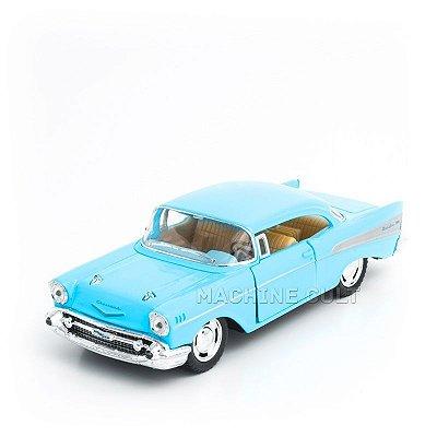 Miniatura Chevrolet Bel Air 1957 Azul - 1:40