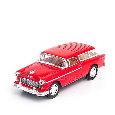 Miniatura Chevy Nomad 1955 Vermelho - 1:40