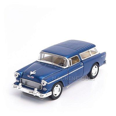 Miniatura Chevy Nomad 1955 Azul - 1:40