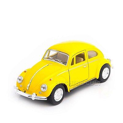 Miniatura Fusca 1967 Amarelo - 1:32
