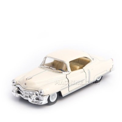 Miniatura Cadillac 1953 Serie 62 Branco 1:43