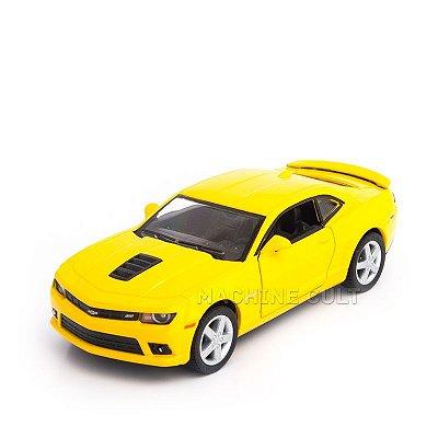 Miniatura Chevrolet Camaro 2014 Amarelo - 1:38
