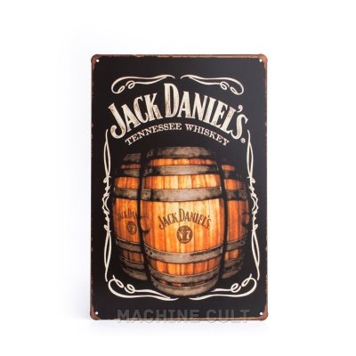 Placa Jack Daniel's Tennessee Whiskey
