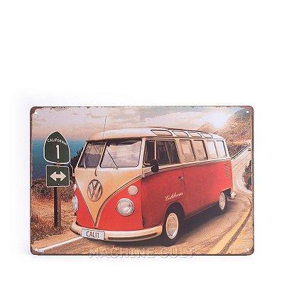 Placa Perua Kombi Volkswagen