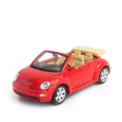 Miniatura Volkswagen New Beetle Cabriolet - Maisto 1:25