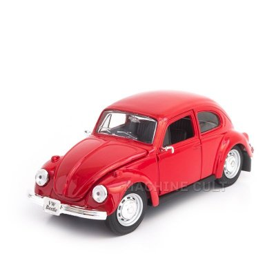 Miniatura Fusca Volkswagen Vermelho - Maisto 1:24