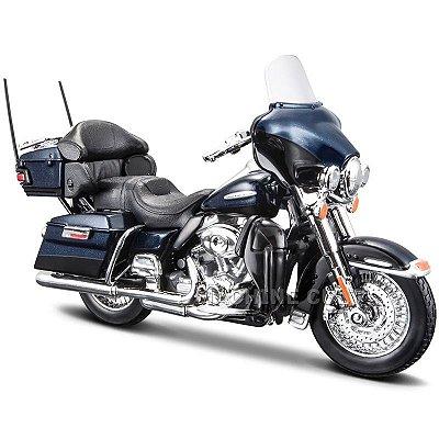 Miniatura Harley-Davidson 2013 FLHTK Electra Glide Ultra Limited - Série 33 - Maisto 1:18
