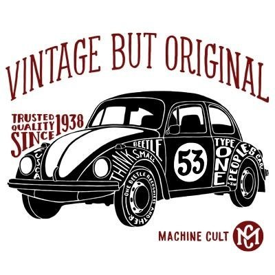 Camiseta Fusca Vintage
