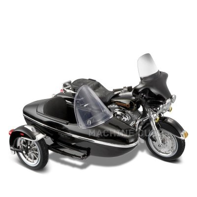 Miniatura Sidecar Harley-Davidson 1998 FLHT ELECTRA GLIDE STANDARD - Maisto 1:18