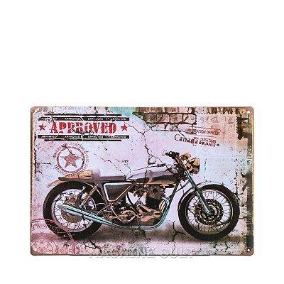 Placa Café Racer