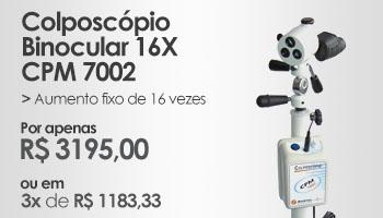 Colposcópio Binocular 16X - CPM 7002