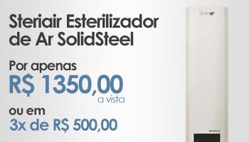 Steriair Esterilizador de Ar SolidSteel