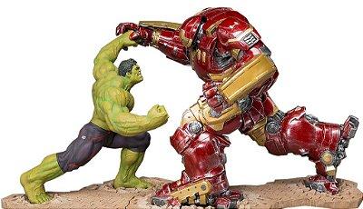 Hulk VS Hulkbuster (Pack) - Avengers Age of Ultron - Kotobukiya