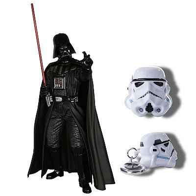 Darth Vader - Return of Anakin Skywalker Kotobukiya + Chaveiro Stormtrooper Iron Studios