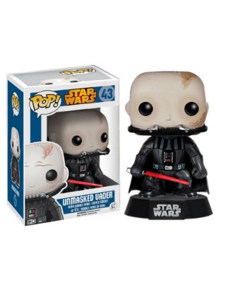 Unmasked Darth Vader - Star Wars VII - POP! Vinyl Funko