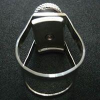 Abraçadeira Lexan Multi-Adaptável  - Alto, Barítono, Soprano e Tenor(metal)
