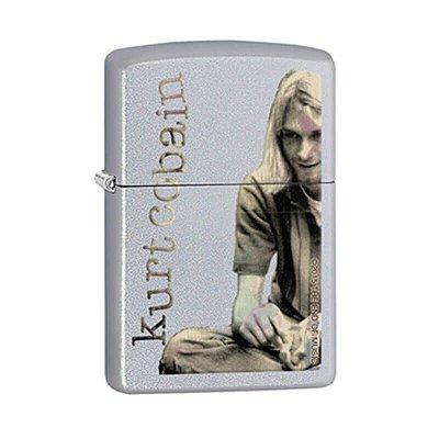 Isqueiro Zippo 29052 Classic Kurt Cobain