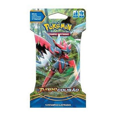 Pokémon TCG Blister Mega Scizor EX - XY 9 Turbo Colisão