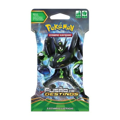 Pokémon TCG Blister Zygarde - XY 10 Fusão de Destinos