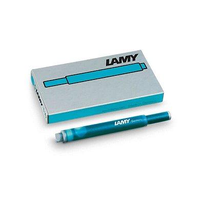 Cartucho de Tinta LAMY T10 Azul Pacífico (5 unidades)