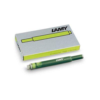 Cartucho de Tinta LAMY T10 Verde Limão (5 unidades)