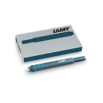 Cartucho de Tinta LAMY T10 Verde Petróleo (5 unidades)