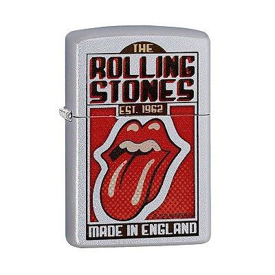 Isqueiro Zippo 29127 Classic Rolling Stones Acetinado