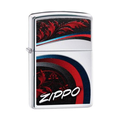 Isqueiro Zippo 29415 Classic Satin and Ribbons Polido