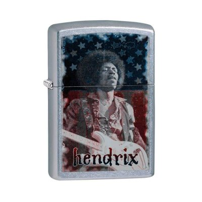 Isqueiro Zippo 29175 Classic Jimi Hendrix Street