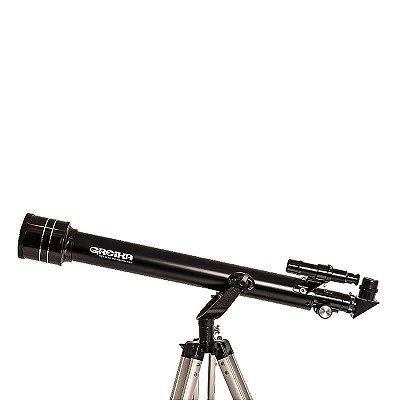 Telescópio Refrator 700x60 HD Azimutal Greika