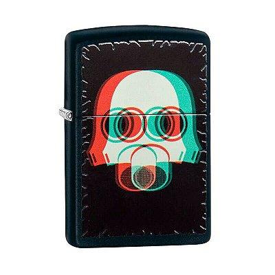 Isqueiro Zippo 29417 Classic Mascara Nuclear Preto