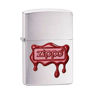 Isqueiro Zippo 29492 Classic Selo de Cera Escovado