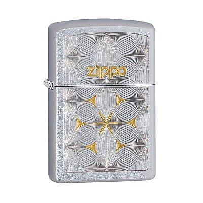 Isqueiro Zippo 29411 Classic Flores Acetinado