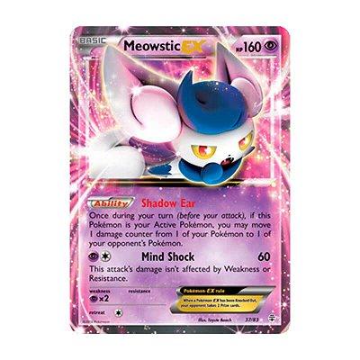 Pokémon TCG: Meowstic EX (37/83) - Gerações