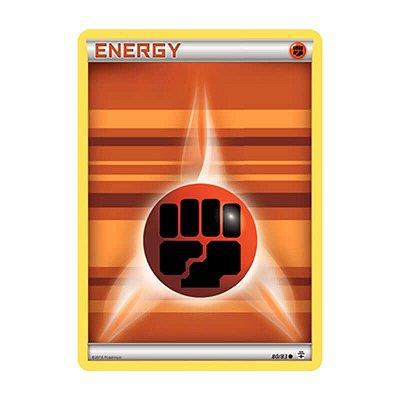Pokémon TCG: Energia Lutador (80/83) - Gerações