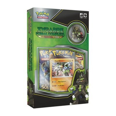 Pokémon TCG: Box Coleção com Broche - Zygarde Forma Completa